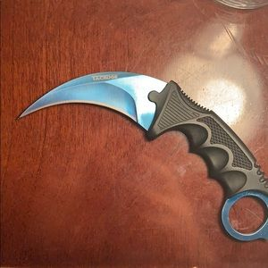 Blue Steel Karambit